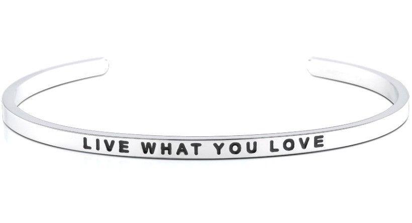 Live What You Love bracelet  b6c809f69cba1
