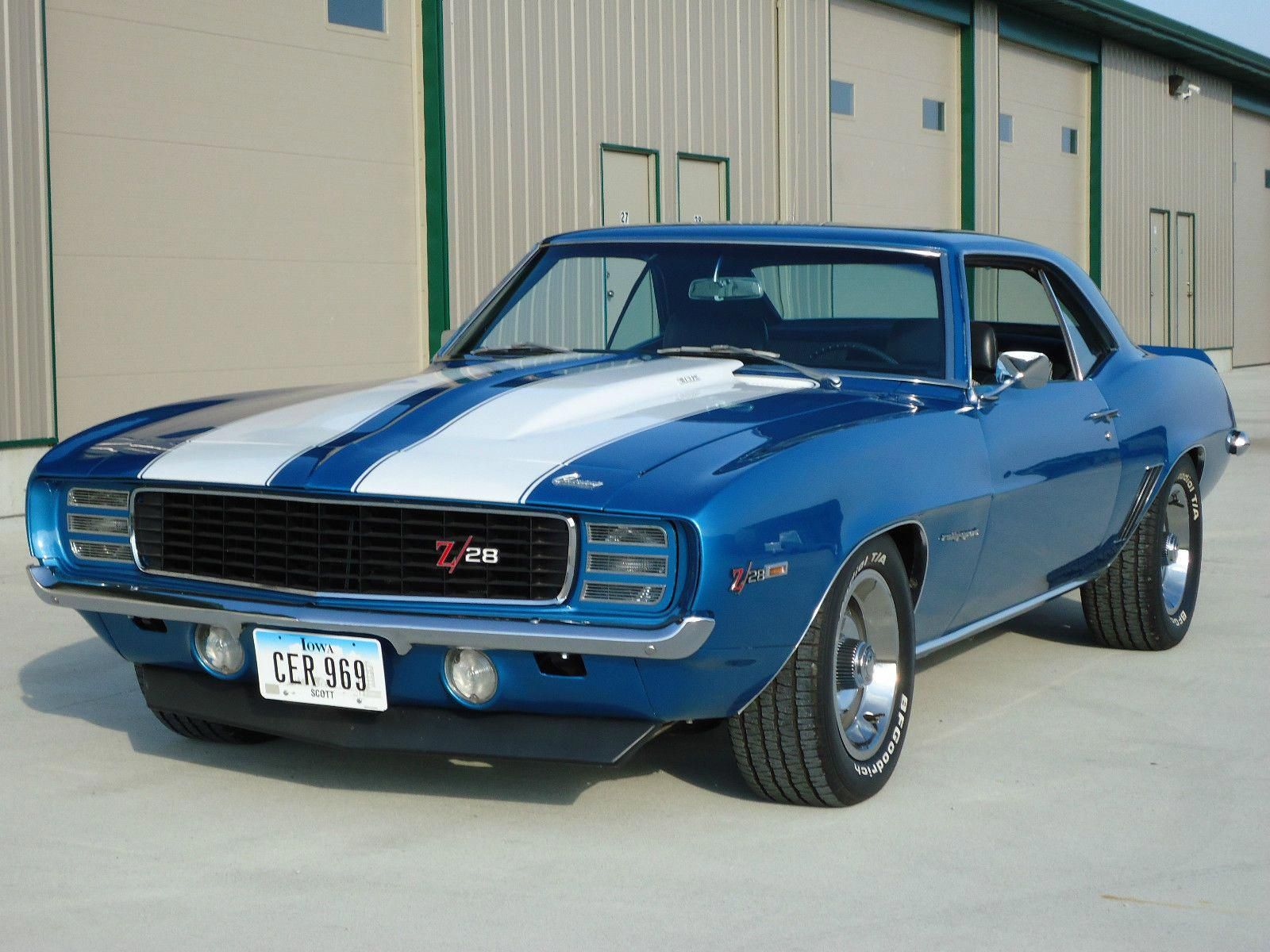 1969 Chevrolet Camaro Rs Z28 406 4 Speed Classiccamaro