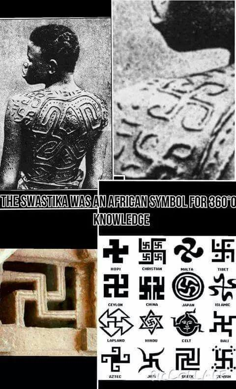 The Swastika Is A Symbol For 360 Degrees Of Knowledgemething Else