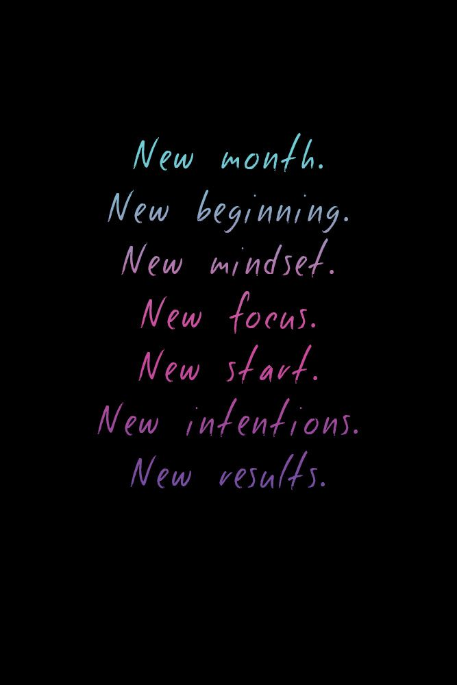 New Month New Beginning Make A Change And Sign Up For The Skinny