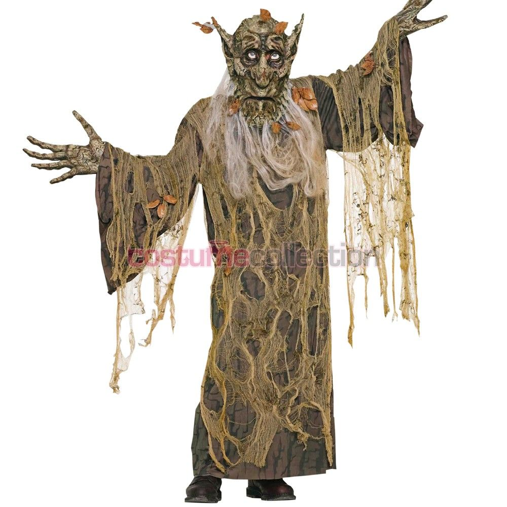 Great Tree Man Wood Monster Costume Halloween Adult