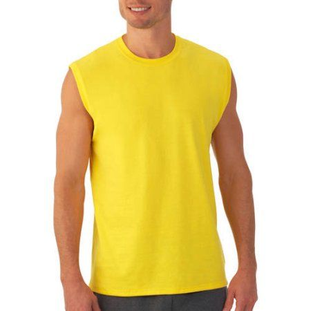 f722ddeb Fruit of the Loom Men's Muscle Tee, Size: Small, Yellow | Products ...