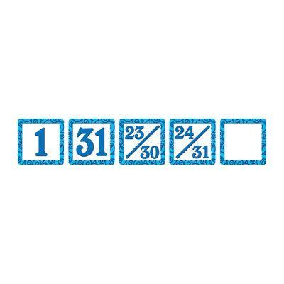 Teacher Created Resources Blue Swirls Mini Packs Calendar Day Calendars Accessory (Set of 3)