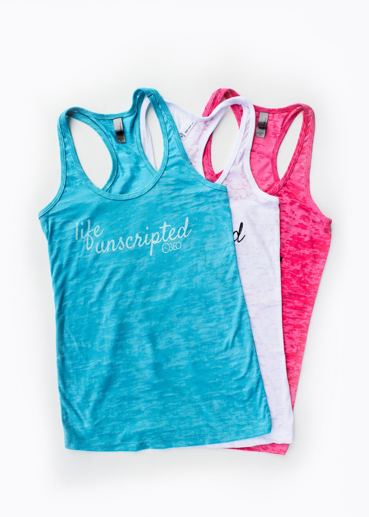 Life Unscripted Burnout Tank - 3 colors available