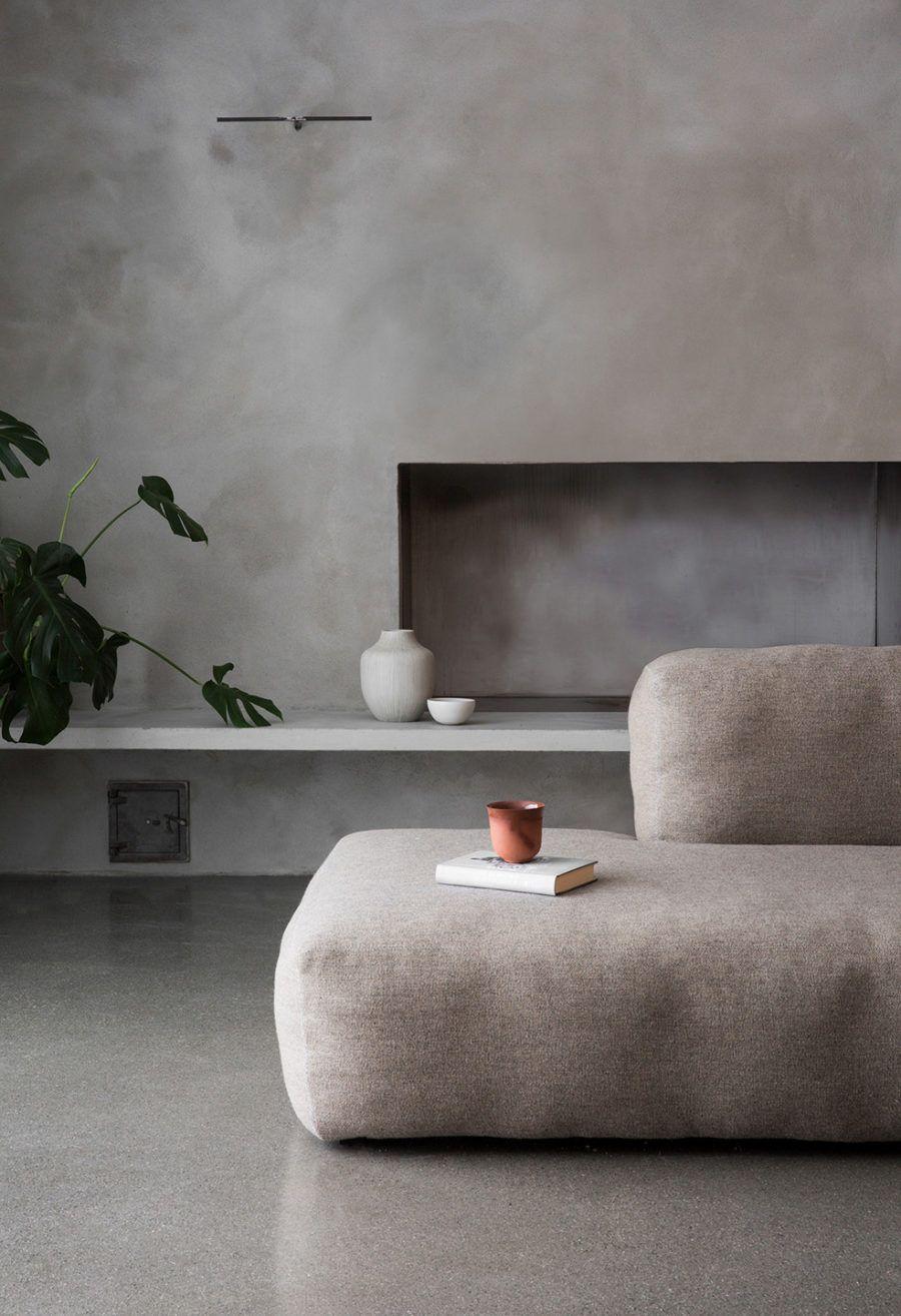 Arkitektritat Trahus I Skandinavisk Stil Grey Gray 灰