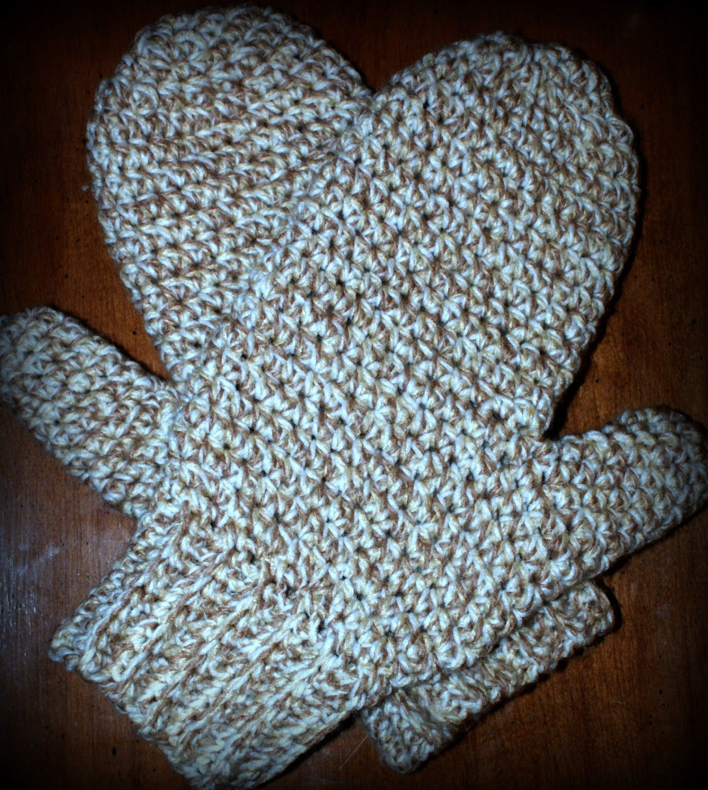 Daddy\'s Simply Easy Mittens | Free crochet, Mittens and Crochet