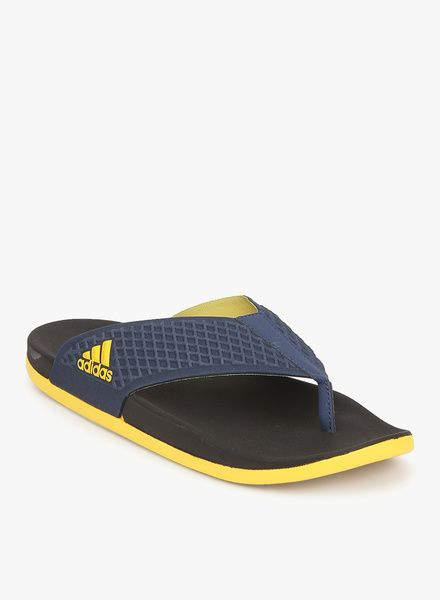4be25af6bc7 Buy Adidas Adilette Sc+ Thong Navy Blue Slippers for Men Online India