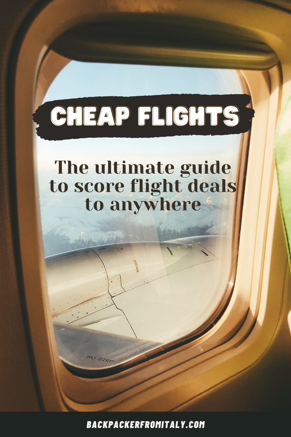 How can I save money on plane tickets? Everyone has asked themselves this question at least once. This FREE guide will help you understand better how you can also find cheap flights to anywhere in the world. #CheapFlights #Flights #Travel #TravelResources