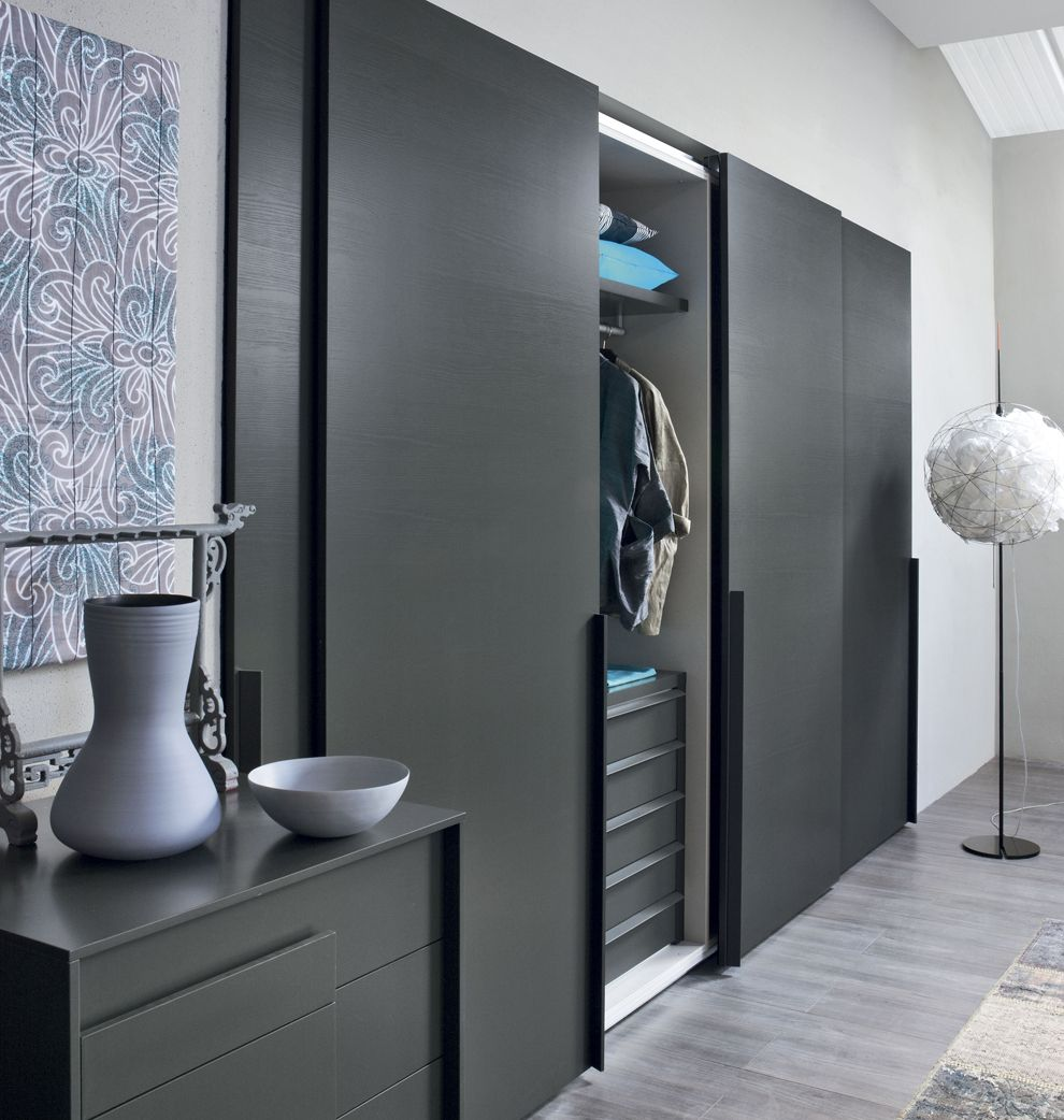 Alfa Sliding Door Wardrobe | Contemporary Sliding Door ...