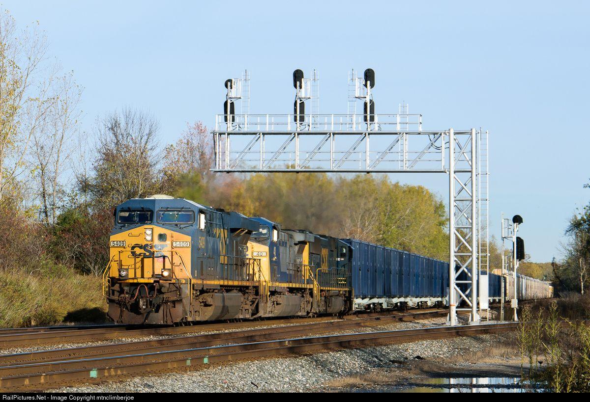 RailPictures.Net Photo: CSX 5409 CSX Transportation (CSXT) GE ES40DC at Rochester, New York by mtnclimberjoe