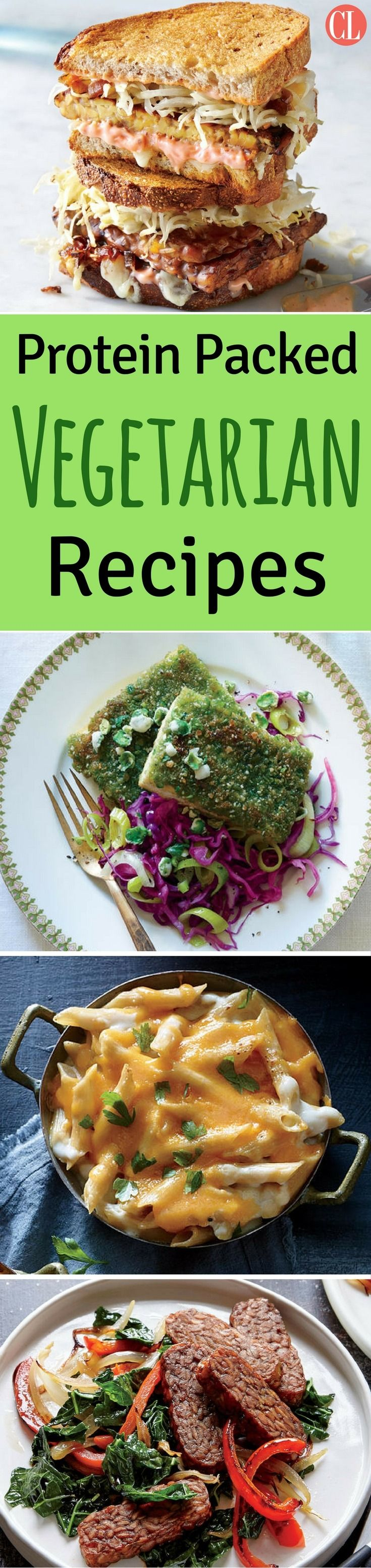 Protein Packed Vegetarian Recipes Cooking Light Vegetarian Protein Recipes Recipes Vegetarian Recipes