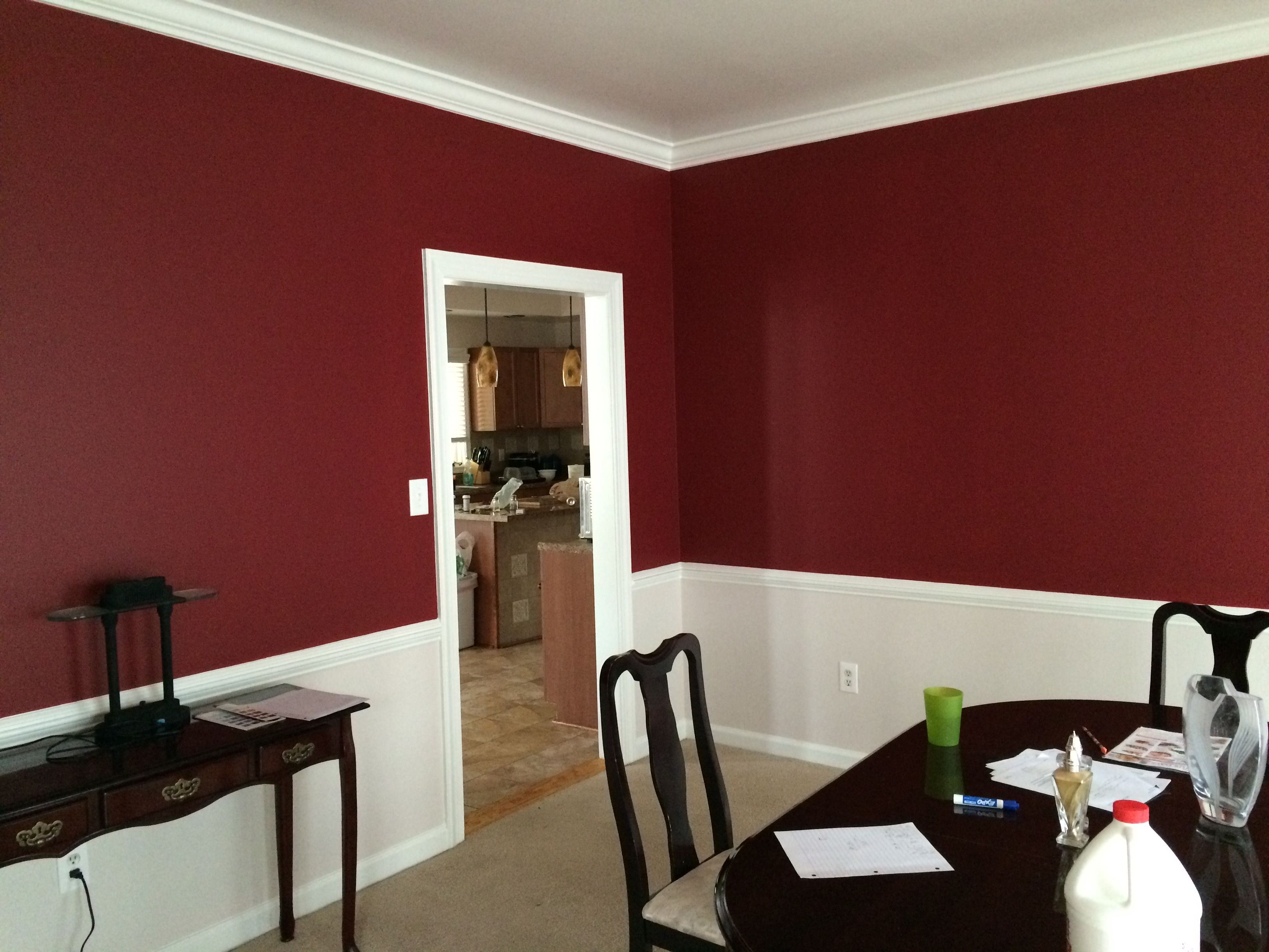 Benjamin Moore Heritage Red  Bm Rme25 Red Dining Rooms Http Unique Red Dining Rooms Design Ideas