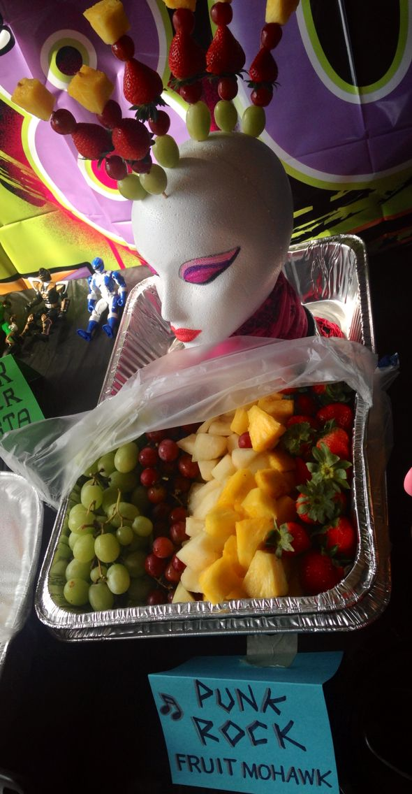 Food Punk Dylan S Candy Bar A Grown Up S Candy Store: 80s Party Punk Rock Fruit Mohawk