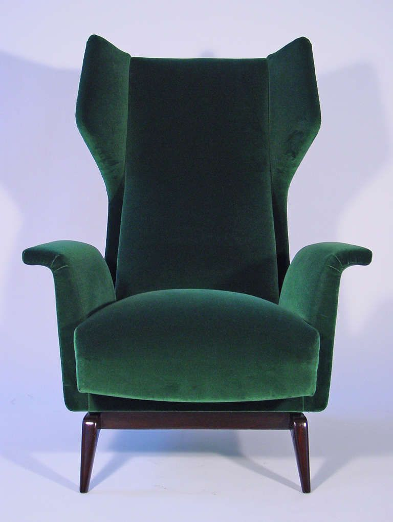 Mid Century · A Breathtaking Pair Of Italian 1950u0027s Armchairs | From A  Unique Collection Of Antique And Modern