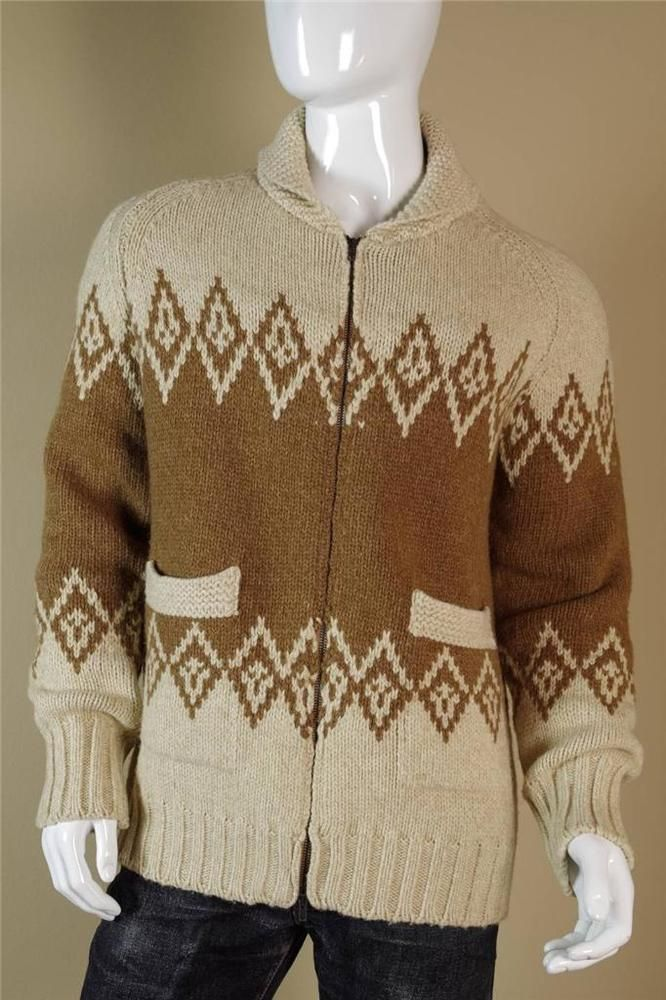 $1495 Maison Martin Margiela 14 Camel Cardigan size Large Brown Khaki Sweater #MaisonMartinMargiela #Cardigan