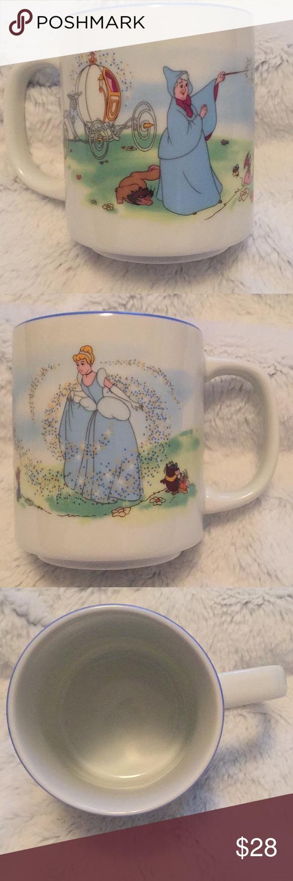 EUC vintage Disneyland Cinderella coffee mug EUC  Disneyland Cinderella  Coffee mug Dining Drinkware #myposhpicks