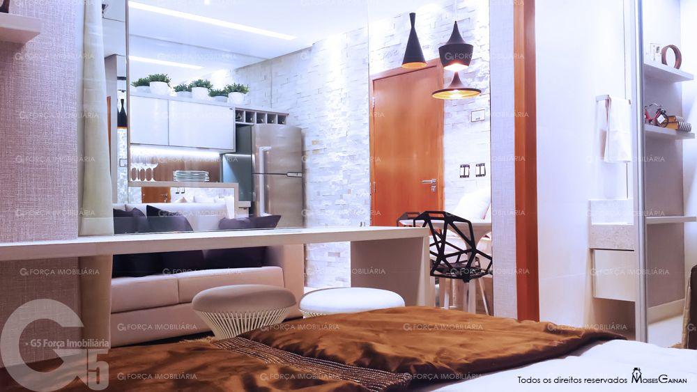 Apartamento Decorado de 1 Quarto do Lux Home Design - Goiânia ...
