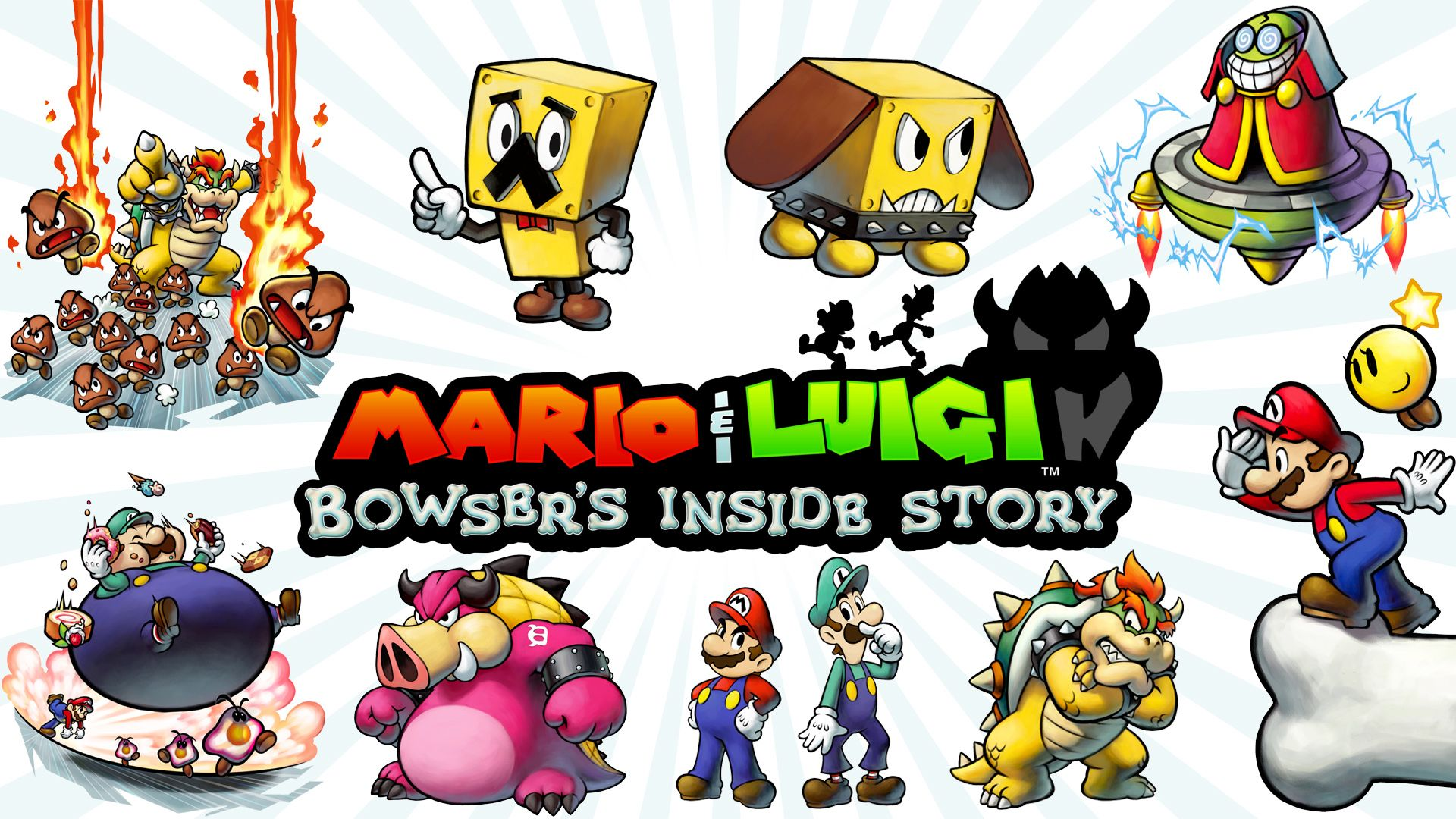 Bowser S Inside Story Art Google Search Mario Luigi