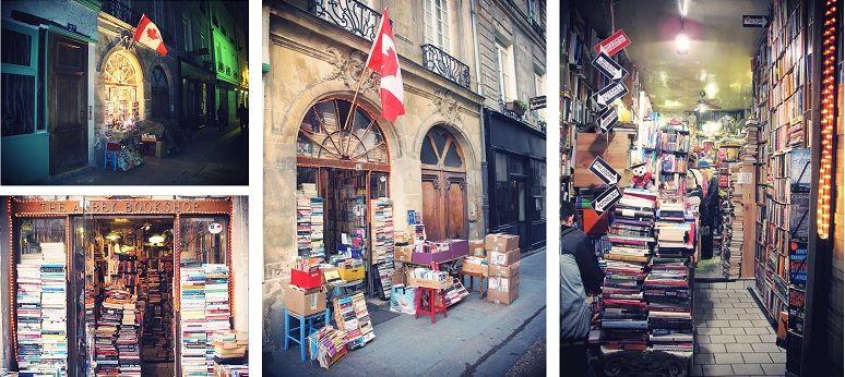 The Abbey Bookshop in Paris by http://guzelonlu.com/blog/?p=1174
