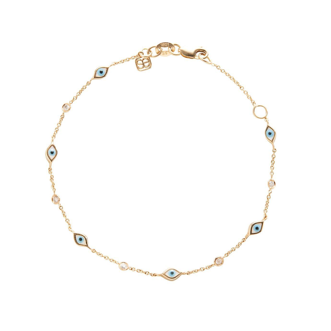 Sydney Evan Continuous Eye Link Bracelet SeCud