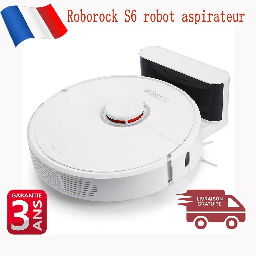 Roborock S6 Robot aspirateur automatique balayage nettoyage