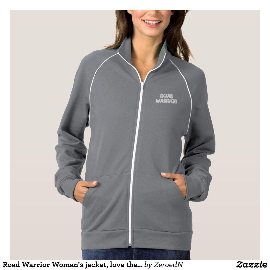 Road Warrior Woman's jacket, love the road Jacket