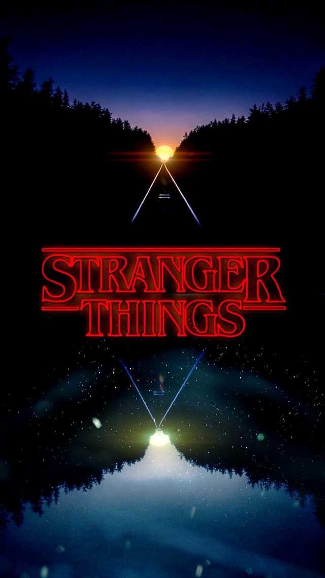 Stranger Things Wallpapers I Designed And Edited On My Iphone Enjoy Netflix Post Stranger Things Wallpaper Stranger Things Poster Stranger Things