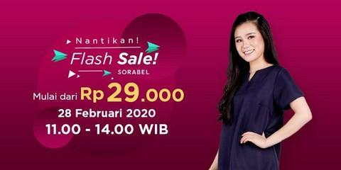 Promo Diskon Flash Sale Februari 2020 Sorabel Com Di 2020