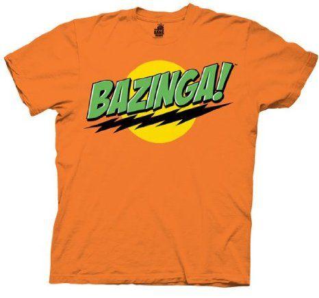 The Big Bang Theory Bazinga Mens T Shirt For Details Or Ordering