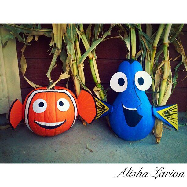 Finding Nemo Pumpkins!