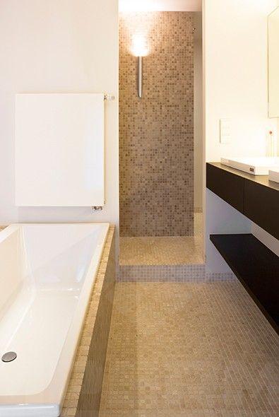 travertino, travertin, natuursteen mozaïek, natuursteen, badkamer ...