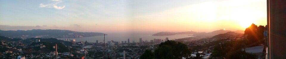 Desde las alturas, Acapulco
