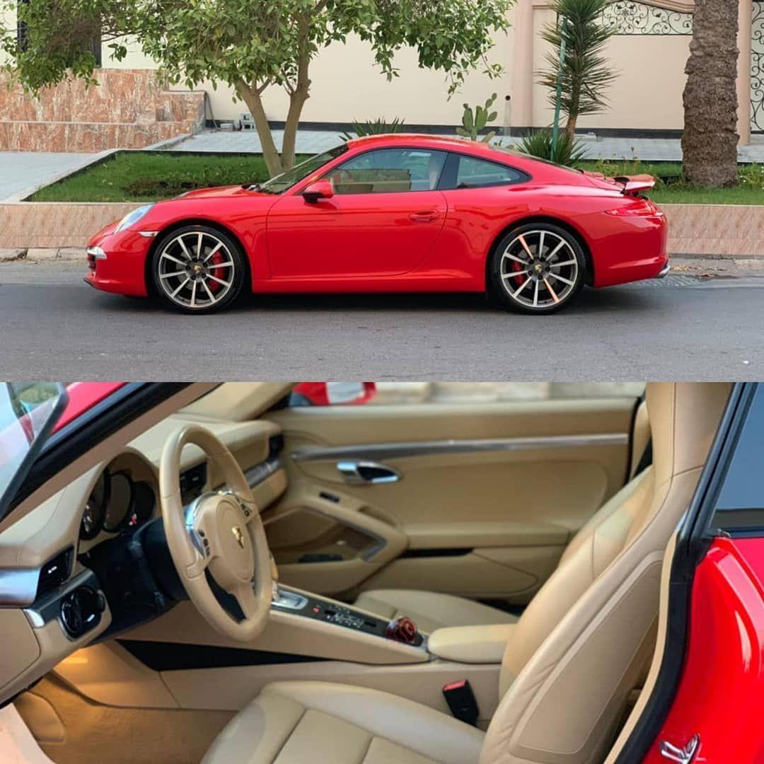 Porsche Carrera S 2012 Red Mileage 48000 Km Full Option
