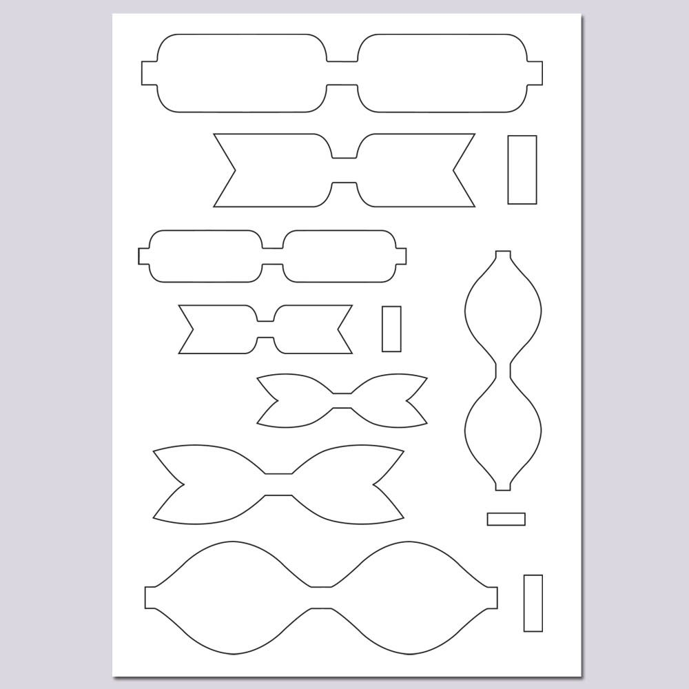 Bow Templates  Card Ideas    Beautiful Handmade Cards