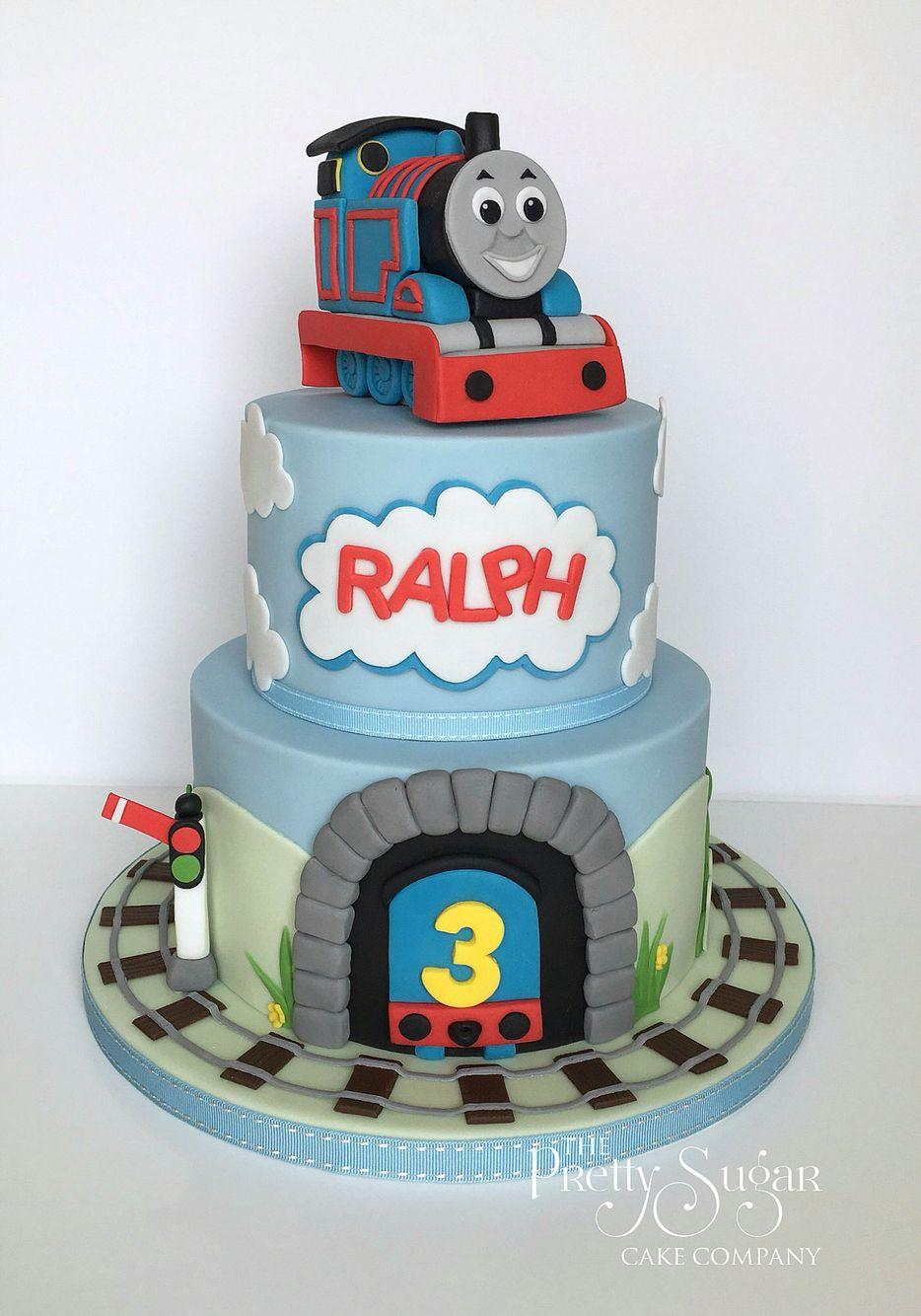 American Thomas Train Cake