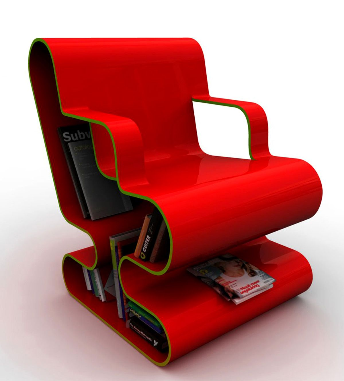 Modern furniture chairs - Unique Chair Furniture Design Is Made Of Fiber