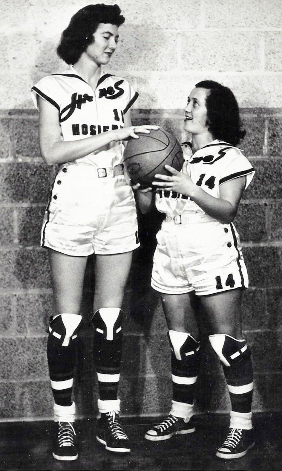 1950 basketball uniforms for girls ) Athletic women