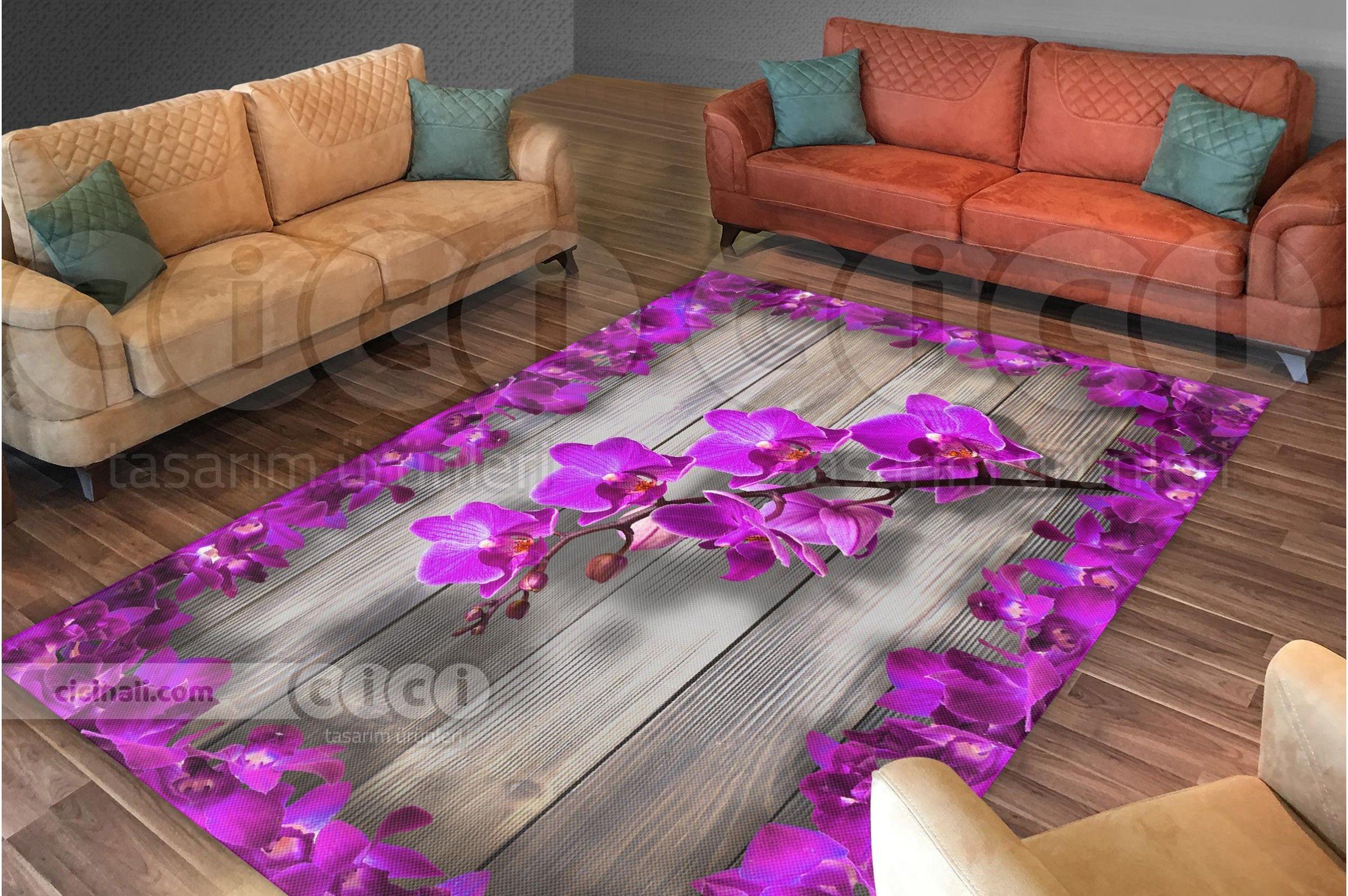 Beyaz Taslar Uzerinde Mavi Dahlia Cicegi 3 Boyutlu Hali Ortusu Hali Nevresimi Coffee Table Decor Home Decor