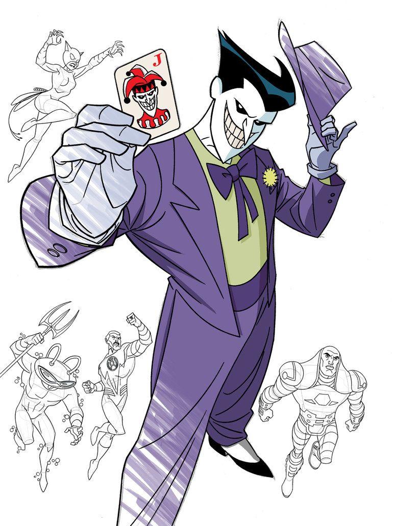 How To Draw Dc Villains Cover Original Dc Villains Villain Drawings