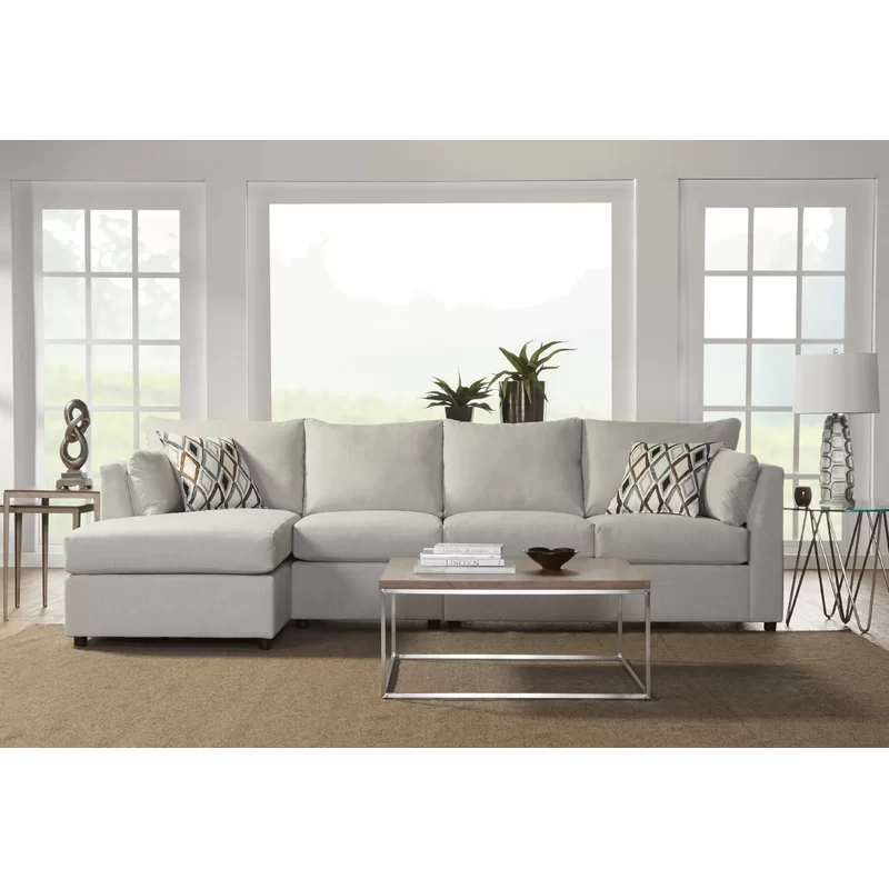 Oona 120 Left Hand Facing Sectional Joss Main In 2020 Sectional Sectional Sofa Couch Sectional Sofa