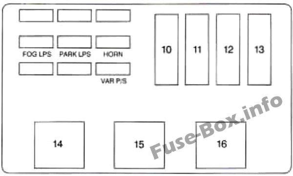 [ZHKZ_3066]  8 Best Chevrolet Monte Carlo (1995-1999) fuses and relays images |  chevrolet monte carlo, fuse box, monte carlo | 1999 Monte Carlo Fuse Box |  | Pinterest