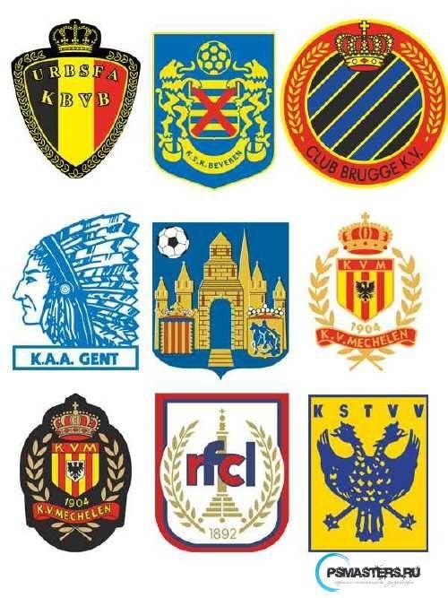 Гербы немецких футбольных команд