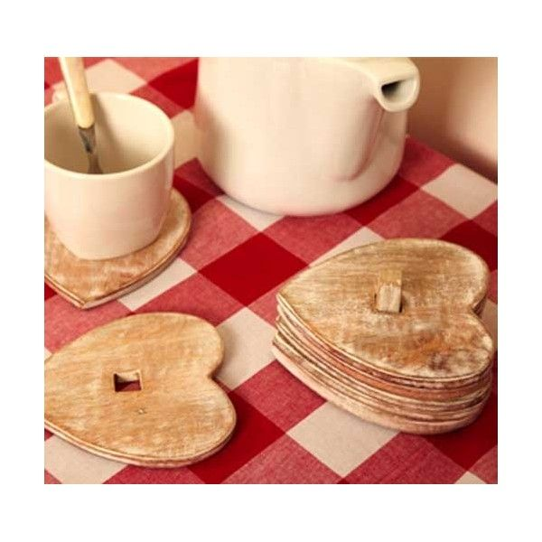 The natural rustic design makes them perfect for any coffee table.