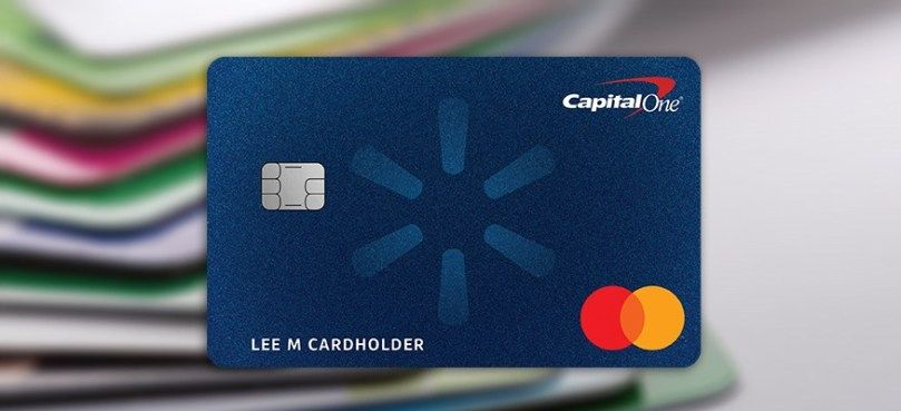 Capital one walmart rewards card get 5 back on online