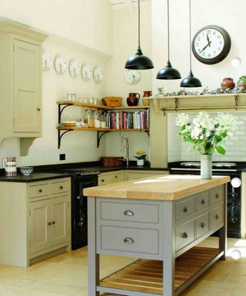 21 Unique Kitchen Island Ideas for Every Space and Budget - homelovers#budget #homelovers #ideas #island #kitchen #space #unique