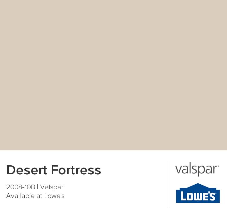 Desert Fortress From Valspar