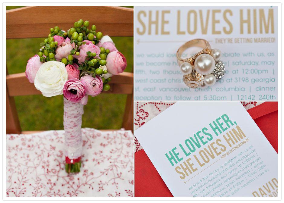 A Quaint Springtime Wedding | Vancouver Wedding | Uschi & Kay - Oh ...