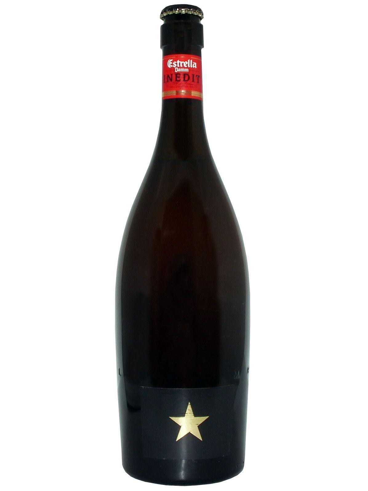 Rei dos Whiskys e Vinhos - Vinho - Whisky Com. de Bebidas - CERVEJA ESTRELA DAMM INEDIT 750ML