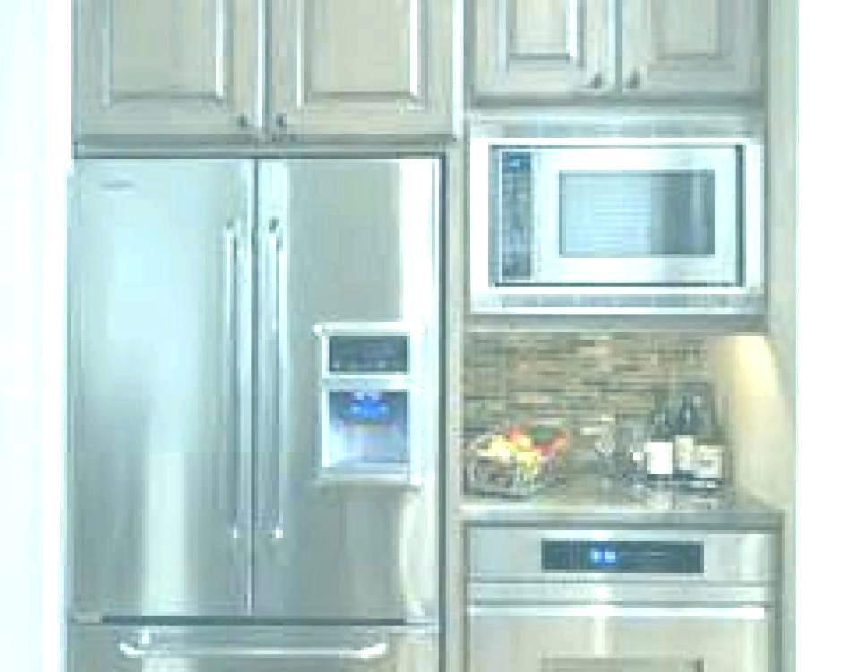 Oven Refrigerator Combo Fridge Next To Wall Oven Refrigerator Next