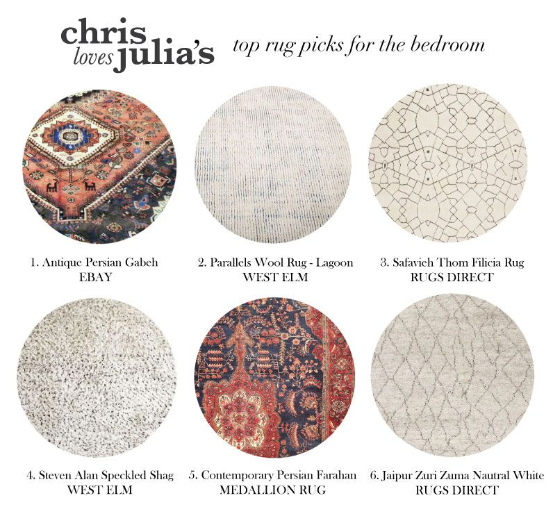 Chris Loves Julia Master Bedroom Rug